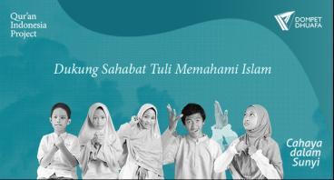 Bantu Teman Tuli Memahami Islam