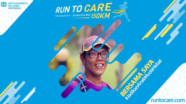 Fran Yannu  Berlari 150 KM Demi 2.200 Anak Negeri