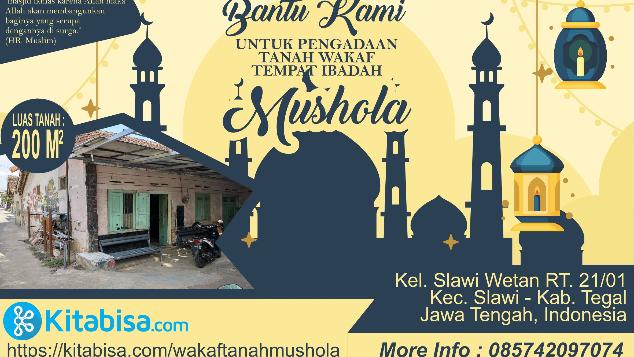 Pengadaan Wakaf Tanah Tempat Ibadah (Mushola)