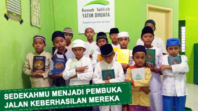 Muliahkan Yatim Penghafal Qur'an