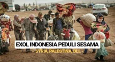 EXOL INDONESIA PEDULI SESAMA (SYRIA, PALESTINA)