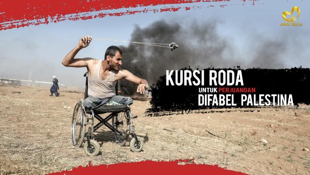 Kursi Roda untuk Keluarga Syuhada di Palestina