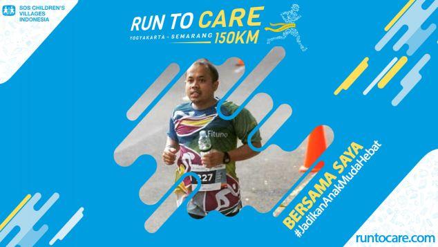 Sogi Berlari 30 KM Demi 2.200 Anak Negeri