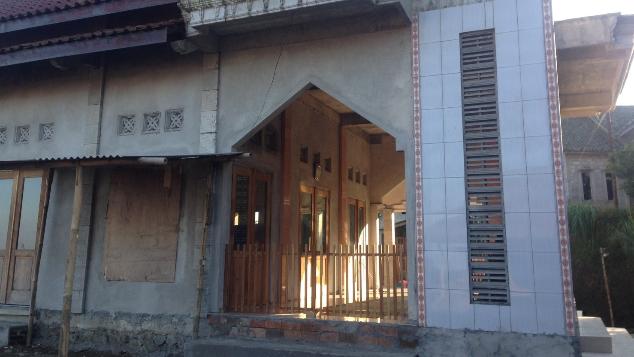 Masjid layak untuk Dusun Sabrang Lor Magelang