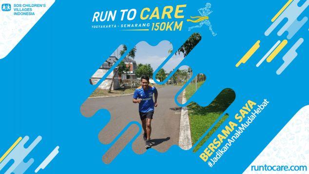Simon Berlari 150 KM Demi 2.200 Anak Negeri