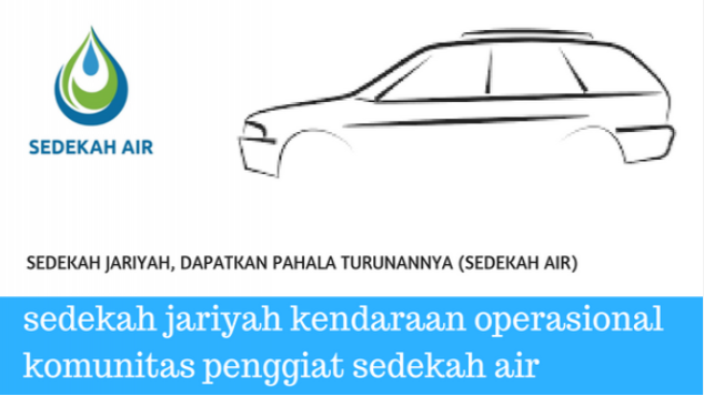 amal jariyah kendaraan operasional