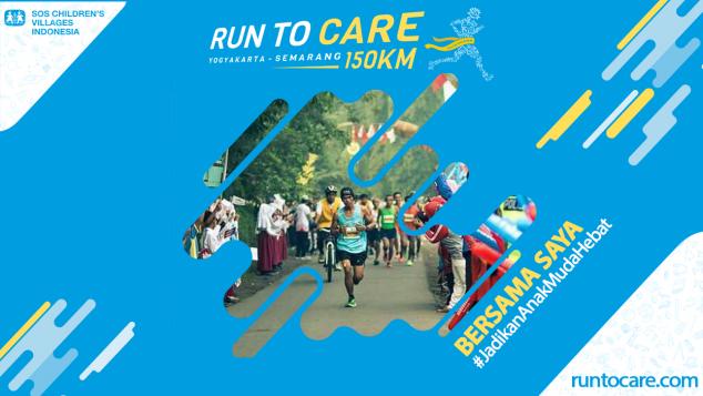 Sudiyar Berlari 150 KM Demi 2.200 Anak Negeri