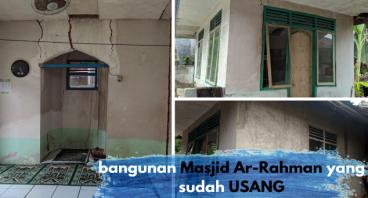 Membangun Kembali Masjid Ar-Rahman yg sudah USANG