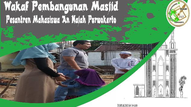 Donasi Pembangunan Masjid Pesantren An Najah