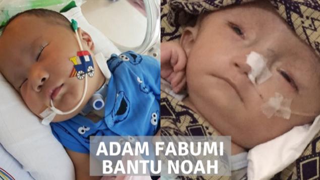 Adam Fabumi Bantu Noah Sehat