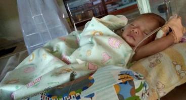 Adik Alifah Berjuang Melawan Rubella Syndrom