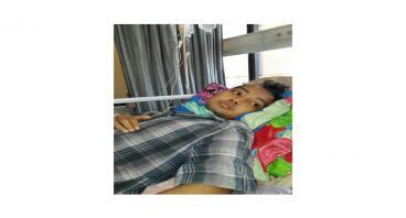 Rifqi ingin Sembuh dari Kanker Darah