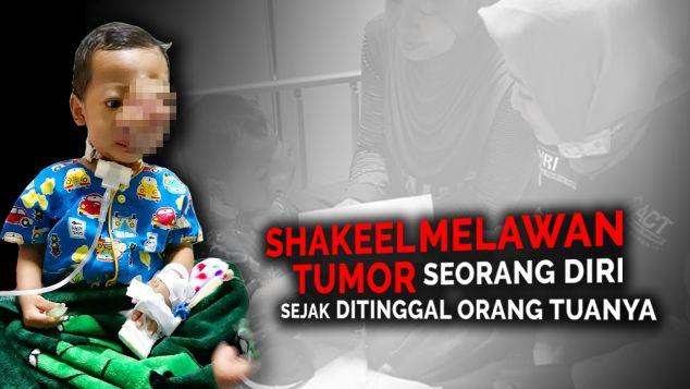 Bantu Adik Shakeel Menang Lawan Tumor