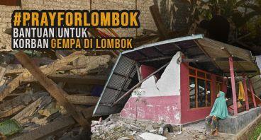 Patungan untuk Bantu Korban Gempa Lombok