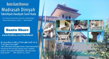 Renovasi Madrasah Takmiliyah Awaliyah Surol Huda