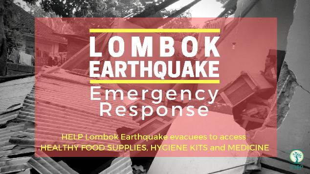 Bantu Korban Gempa Lombok Juli 2018