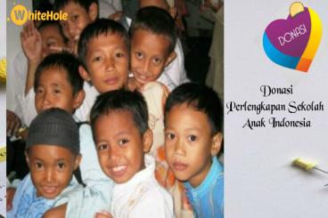 Donasi Perlengkapan Sekolah Anak Indonesia