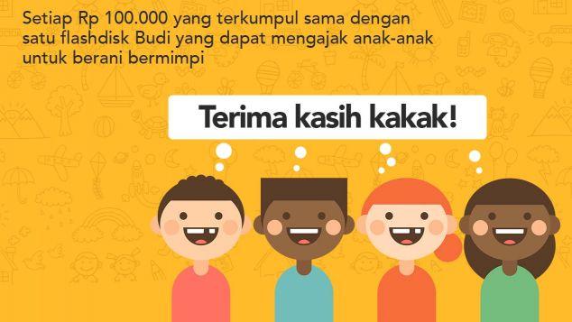Indika Foundation Dukung Kirim Budi