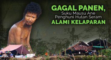 Suku Mausu Ane di Maluku Lawan Bencana Lapar
