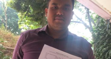 Bantu Mauritcio Melunasi Tunggakan Biaya Studi
