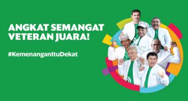Semangati Veteran Juara Indonesia