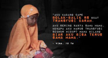 Transfusi Darah Seumur Hidup untuk Vina