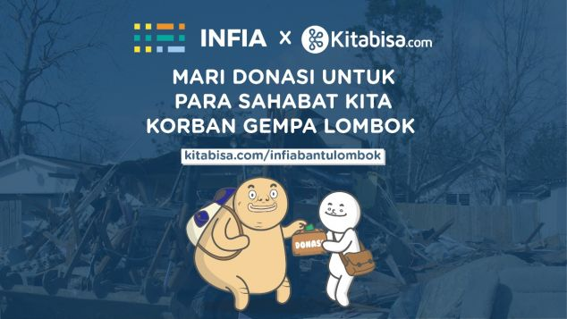 Infia Bantu Korban Gempa Lombok