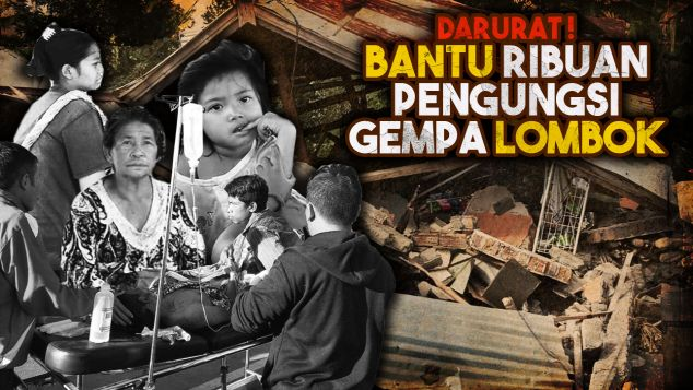 Bantu korban gempa Lombok