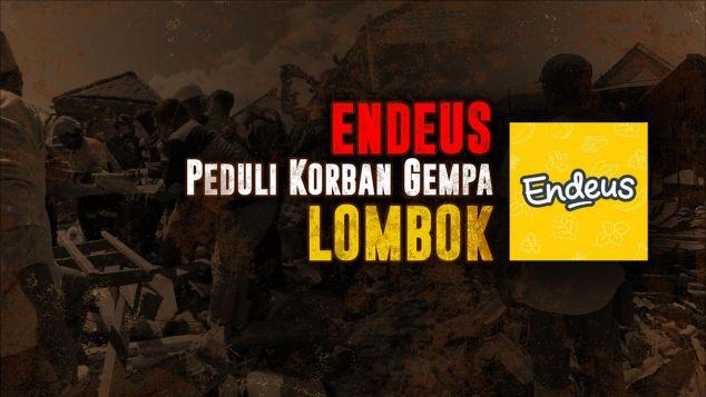 Endeus Peduli Lombok