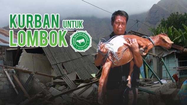 Kurban untuk Lombok