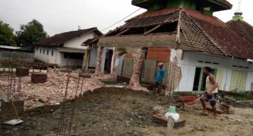Bantu Bangun Kembali Masjid Besar Nuruddin Jombang