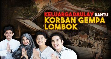 Daulay Brothers Bantu Korban Gempa Lombok