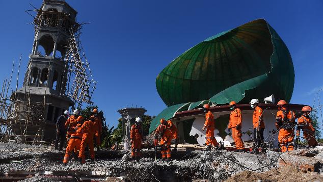 Bantu Bangun Masjid di Lombok