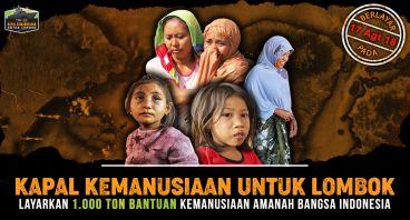 #KapalKemanusiaan Indonesia untuk Lombok