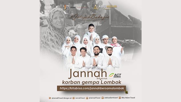 Jannah Bersama Korban Gempa Lombok
