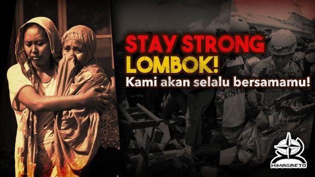 Civitas GFM Peduli Lombok