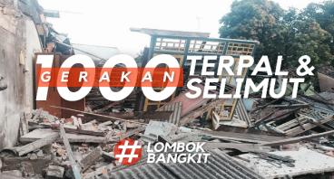 Gerakan 1000 Terpal & Selimut untuk Lombok
