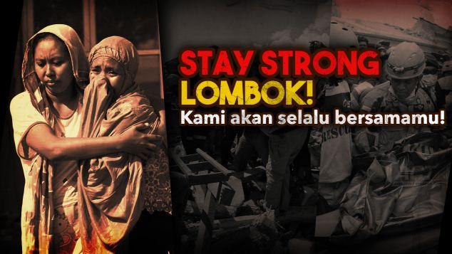 Bangkit bersama korban gempa Lombok