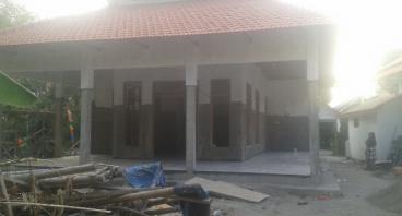 Bantu pembangunan Musholla Sirojul Ummah