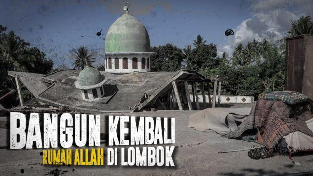 Bangun Kembali Masjid di Lombok