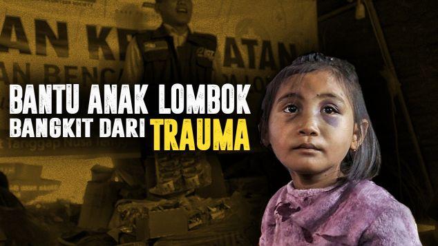 Bantuan Medis Untuk Anak Lombok