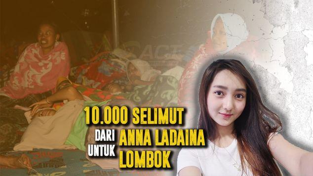 10.000 Selimut Dari Anna Untuk Lombok
