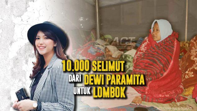 10000 Selimut Dari Mita Untuk Lombok