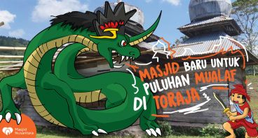 Kado Masjid untuk Mualaf Toraja