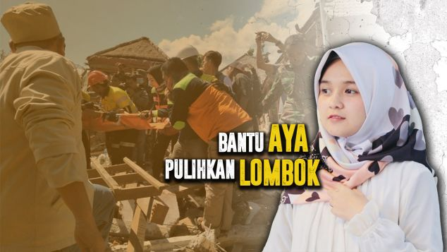 Bantu Aya Pulihkan Lombok