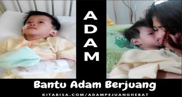 Adam, Pejuang Hipospadia, Gerd, dan Gizi Buruk