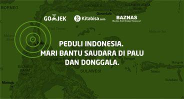 Bersama Bantu Korban Gempa Donggala & Tsunami Palu