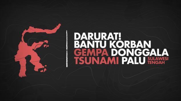 bantu korban gempa donggala dan tsunami palu