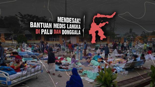 Bantuan Medis Untuk Korban Gempa & Tsunami Sulteng