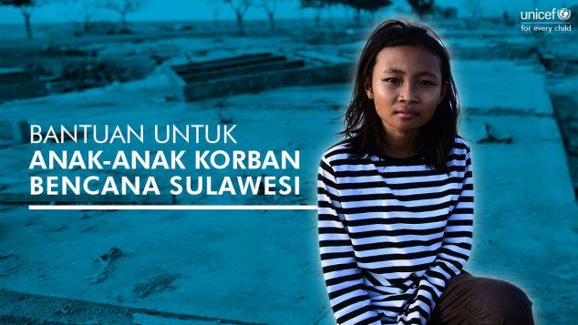 Bantu Anak-Anak Korban Gempa dan Tsunami Palu